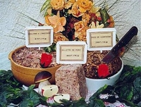 Terrine de foie gras de cannard ( le kg )
