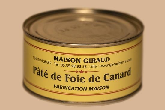 Pâté au foie de canard ( bte 190 gr )