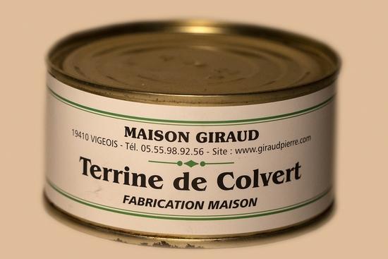 Terrine de Colvert (bte 130g)