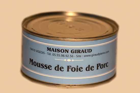 Mousse de foie de porc (bte 130g)
