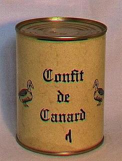 Confit de canard ( 2 cuisses-bte 450g )