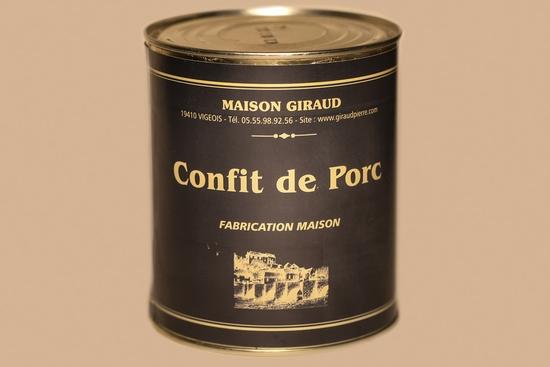 Confit de porc ( bte 400g )