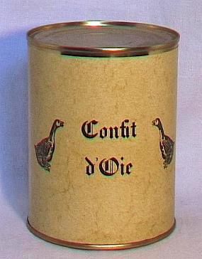 Confit d'oie ( cuisses-bte 450g )