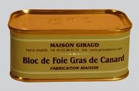 Bloc de foie gras de canard ( bte 130g )
