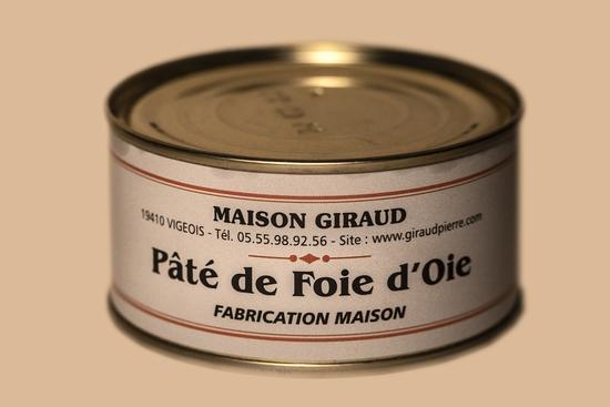 Pâté de foie d'oie( bte 190g )