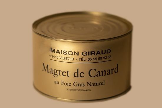Magrets de canard au foie gras ( bte 400g )