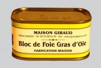Lingot de foie gras ( bte 190g )