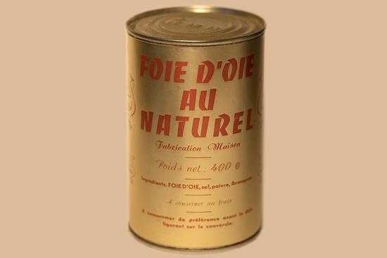 Foie gras d'oie au naturel ( bte 400g )