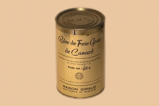 Bloc de foie gras de canard ( bte 330g )
