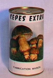 Cèpes au naturel ( bte 280g )