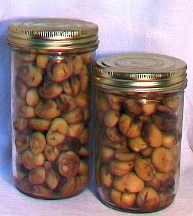 Châtaignes ( bocal 1/2 litre )