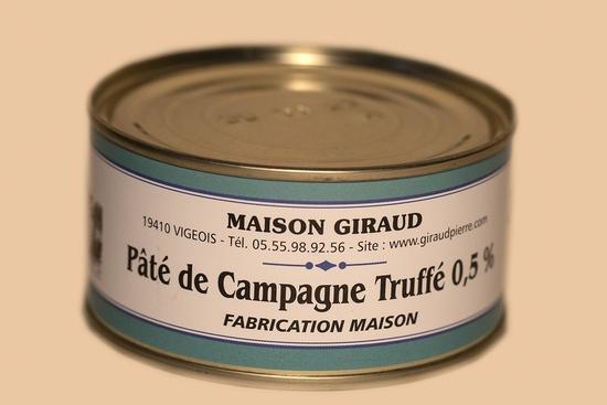 Pâté de campagne truffé ( bte 190g )